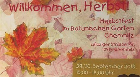 Botanischer Garten Pankow Herbstfest 2018 by Imkerverein Chemnitz 1874 E V