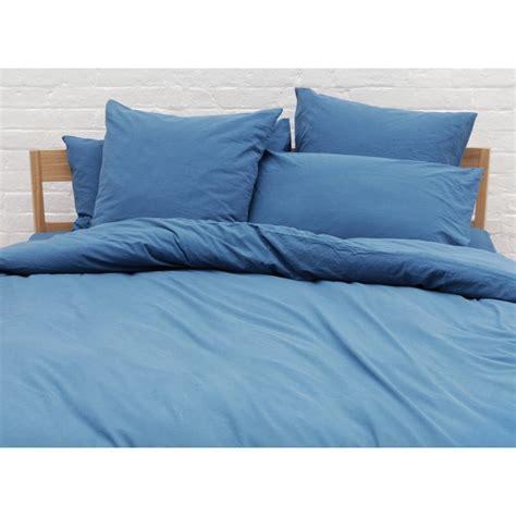 Buy Habitat Washed Single Bed Linen Set  Teal At Argosco