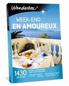 Cadeau Pour 1 An De Couple : week end en amoureux coffret cadeau wonderbox ~ Melissatoandfro.com Idées de Décoration