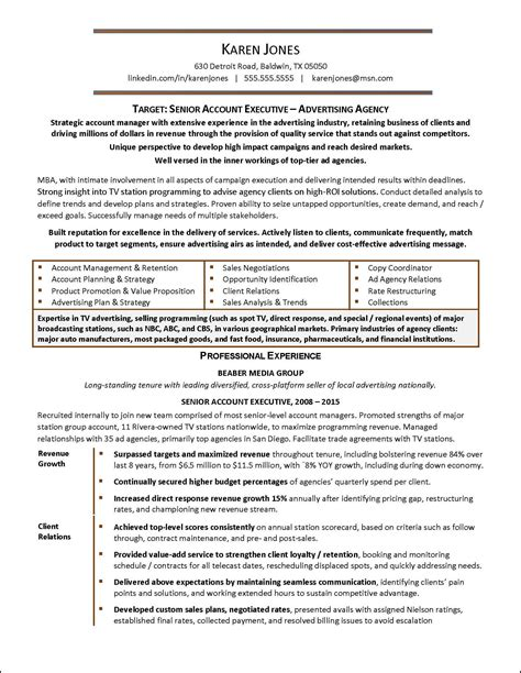 free resume templates it executive human resources