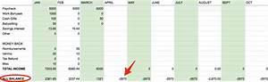 Daily Spending Tracker Spreadsheet Spreadsheet To Track Spending Business Insider