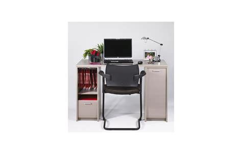 bureau taupe bureau taupe avec caissons et rideaux coulissants decome