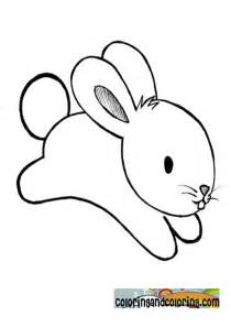 Baby Bunny Rabbit Coloring Pages