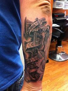 Viking warrior axe on my outer right forearm-fifth sun ...