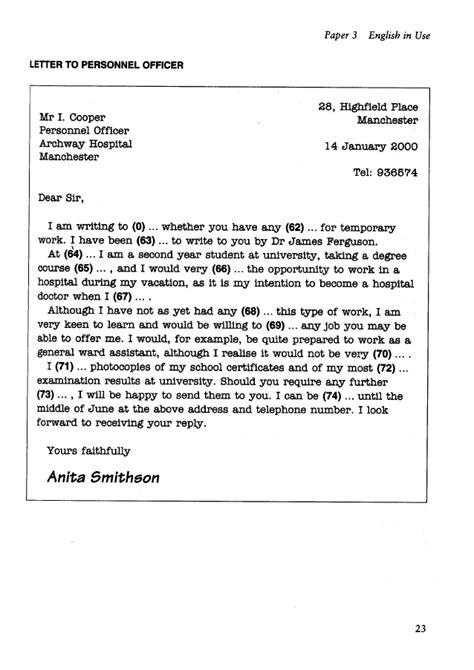 write  application letter cae reportzweb