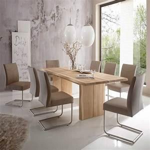 Moderne Stühle Esszimmer : esszimmer sitzgruppe zerval aus eiche massivholz ~ Markanthonyermac.com Haus und Dekorationen