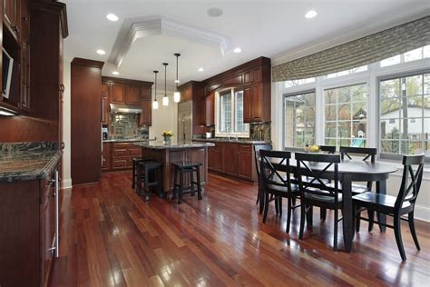 wood floor ideas for kitchens 43 quot new and spacious quot darker wood kitchen designs layouts 1932