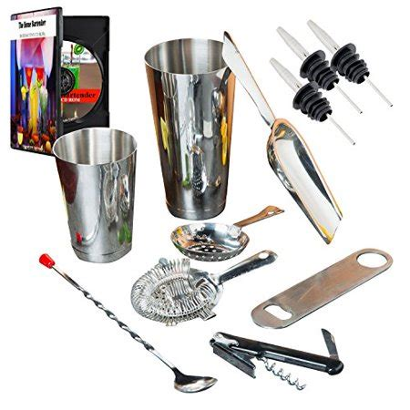 Barware Stores by Bartending Starter Kit Barware Set Bar Kit Supplies