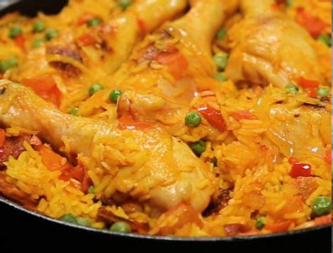 cuisiner une paella paëlla rapide au poulet et au chorizo maître coq