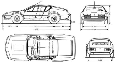 tutorials3d blueprints renault alpine a310