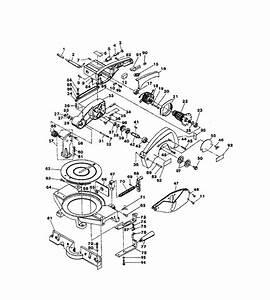Ryobi Ts254 Parts List