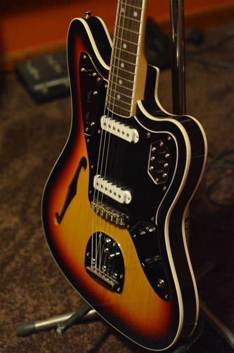Fender Thinline Jaguar by Fender Thinline Fender Japan And Jaguar On