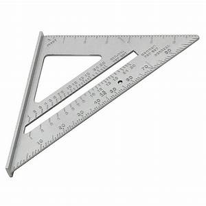 7 U0026quot  Roofing Speed Square Aluminium Alloy Rafter Angle
