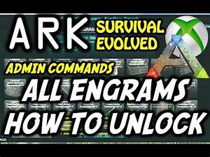 ARK Survival Evolved Engram39s Cheat Admin Commands