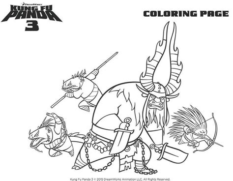 15 Best Coloring Pages (kung Fu Panda) Images On Pinterest