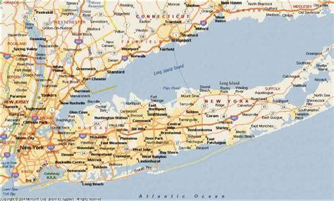 map  long island   holidaymapqcom