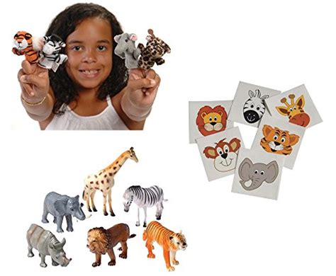 zoo animal favor bundle supplies toy piece party wanted toys most