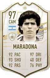 Diego maradona is available now via a limited time squad building challenge. Diego Maradona - FIFA 21 Icon Player