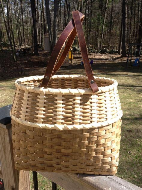 basket weaving kit vertical tote basket