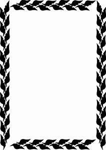 Leaf Border Clip Art at Clker.com - vector clip art online ...