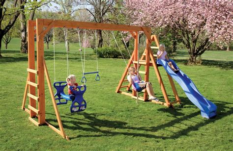 amish swing sets country collections gift shop king swings available in