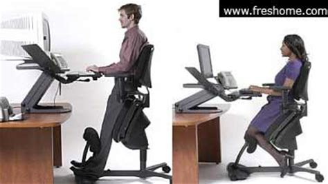 adjustable wooden desk meant to improve posture and