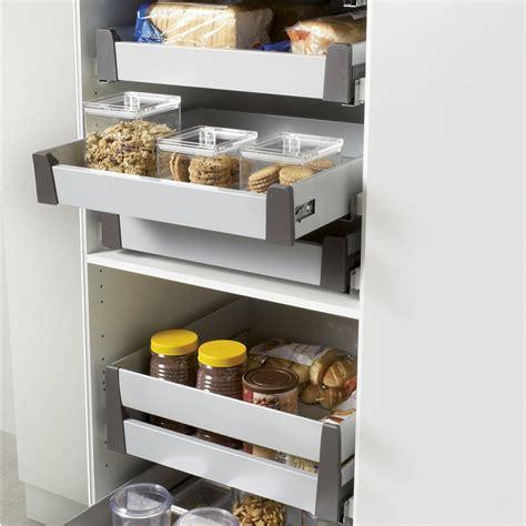 tiroir cuisine coulissant tiroir à l 39 anglaise simple hauteur pour meuble l 60 cm delinia leroy merlin