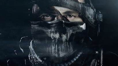 Duty Call Ghosts Face Mask Soldiers Wallpapers