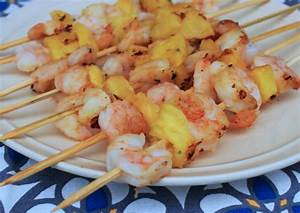 Grilled Shrimp and Pineapple Skewers - GrillGirl: healthy ...