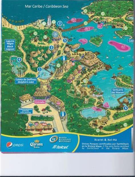 map  park foto van xel ha park riviera maya tripadvisor