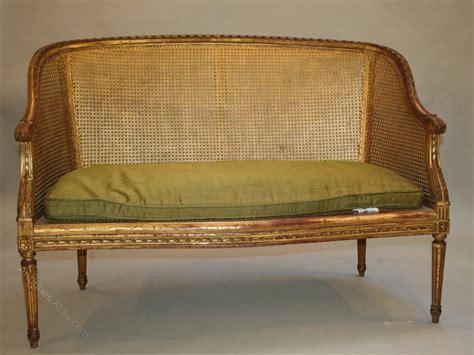 atlas canapé gilt sofa canape antiques atlas
