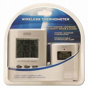 Springfield Wireless Thermometer With Indoor  Outdoor