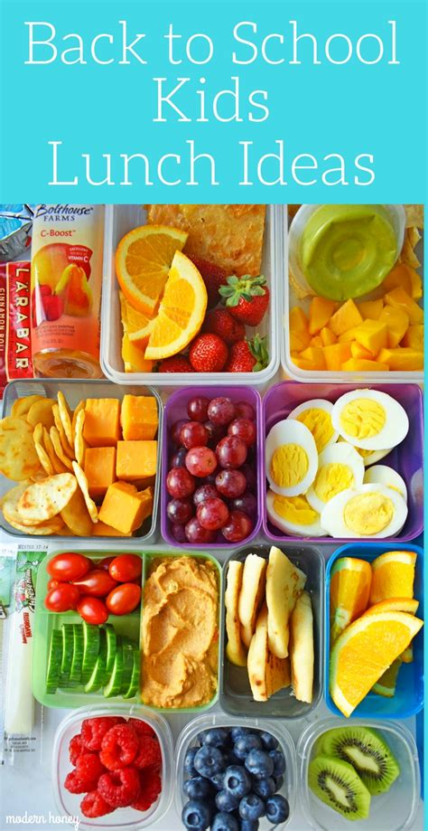 back to school lunch ideas modern honey 764 | Back to School