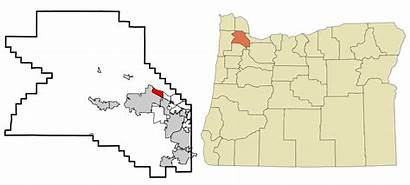 Oregon Rockcreek Wikipedia County Washington Unincorporated