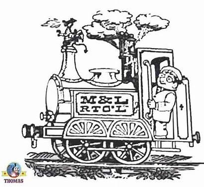 Steam Engine Cartoon Colouring Pages Dragon Ivor