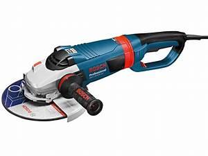 Meuleuse Bosch 230 : meuleuse d 39 angle professionnelle gws 26 230 lvi bosch ~ Edinachiropracticcenter.com Idées de Décoration