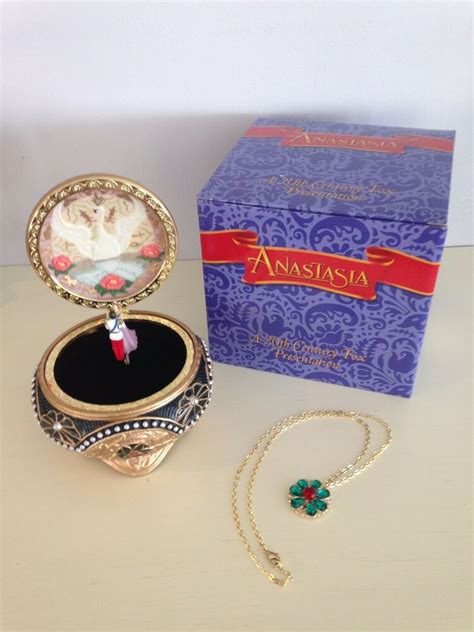 Join millions of music makers all over the world on reverb. Anastasia Trinket Music Box with Necklace by The San Francisco Music Box Co. NIB | eBay
