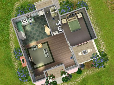 mod  sims victorian cottage starter   fully furnished