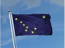 Alaska Flagge 90 x 150 cm kaufen FlaggenPlatzch