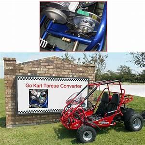 3  4 U0026quot  Clutch Go Kart Torque Converter 10t12t Replaces Comet