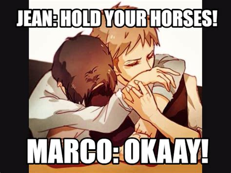 Jean Meme - jean x marco meme by attackontitanmemes on deviantart