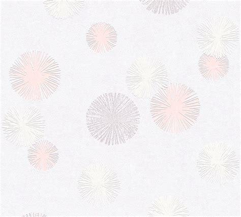 tapete mit pusteblume tapete vlies pusteblume wei 223 rosa glitzer livingwalls 35607 2