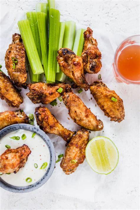 wings fryer air chicken crispy extra lenaskitchenblog recipe lenaskitchen recipes ranch skin wing interactions reader nutrition