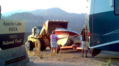 Fishing Boat Rentals Lake Pleasant Az by Apache Lake Arizona Boat Fell Trailer