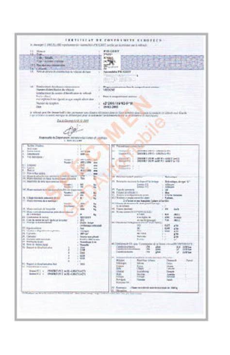 certificat de conformite  certificat de conformite