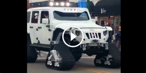stormtrooper jeep wrangler impresses  kids star