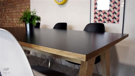 zinc top dining table uk synk birch plywood dining table