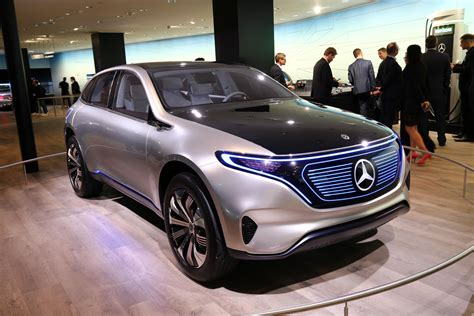 Mercedes-benz Concept Eqa Show Car