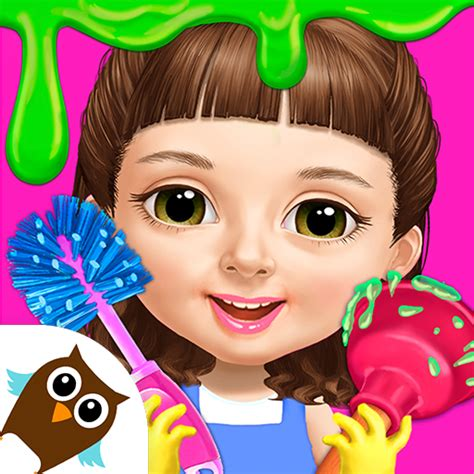sweet baby girl cleanup  messy house makeover apk mod