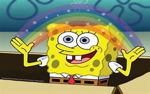 Imagination Sponge Bob Wallpaper